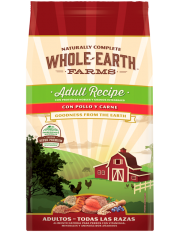 Whole Earth Farms Adult Recipe con Pollo y Carne